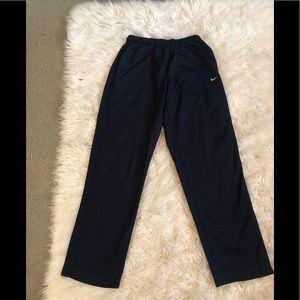 Nike black sweatpants sz large